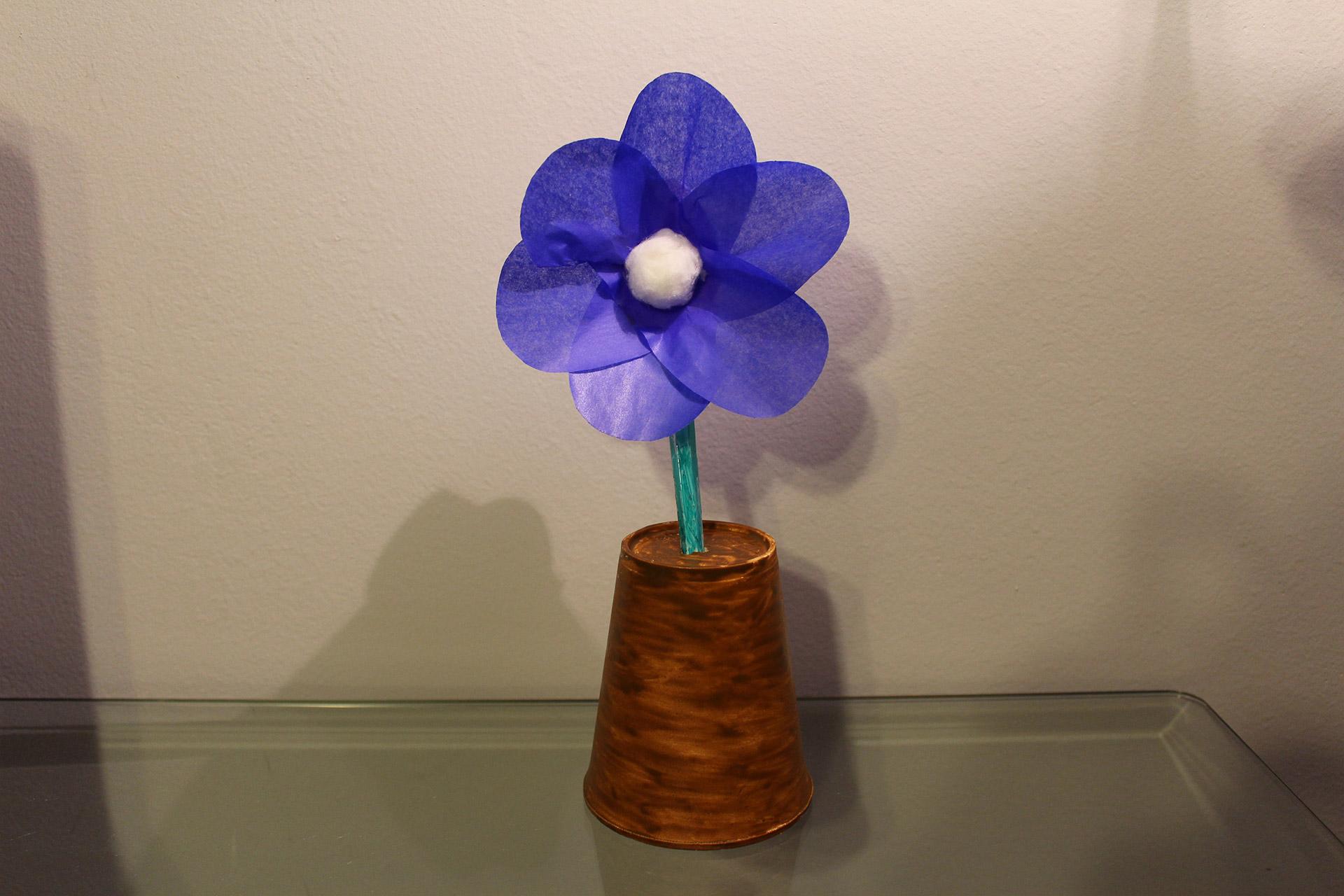 Pomysł na ciekawego kwiatka w doniczce