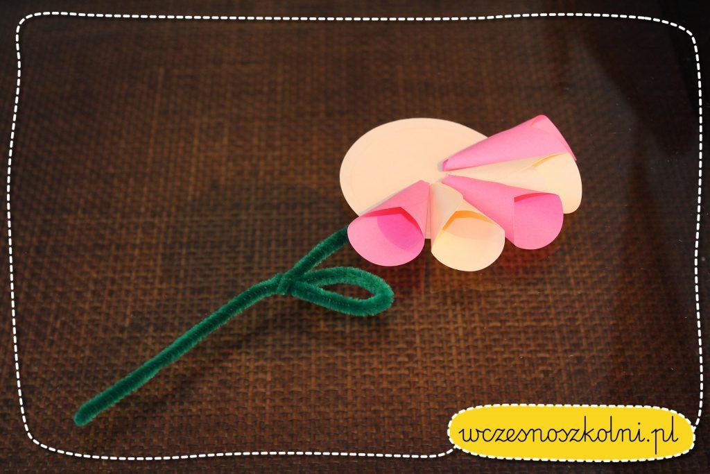 kwiaty z kolek origami (6)