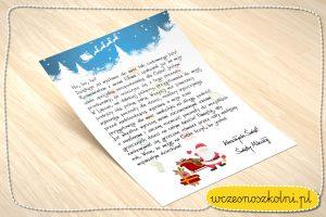 list-od-mikolaja