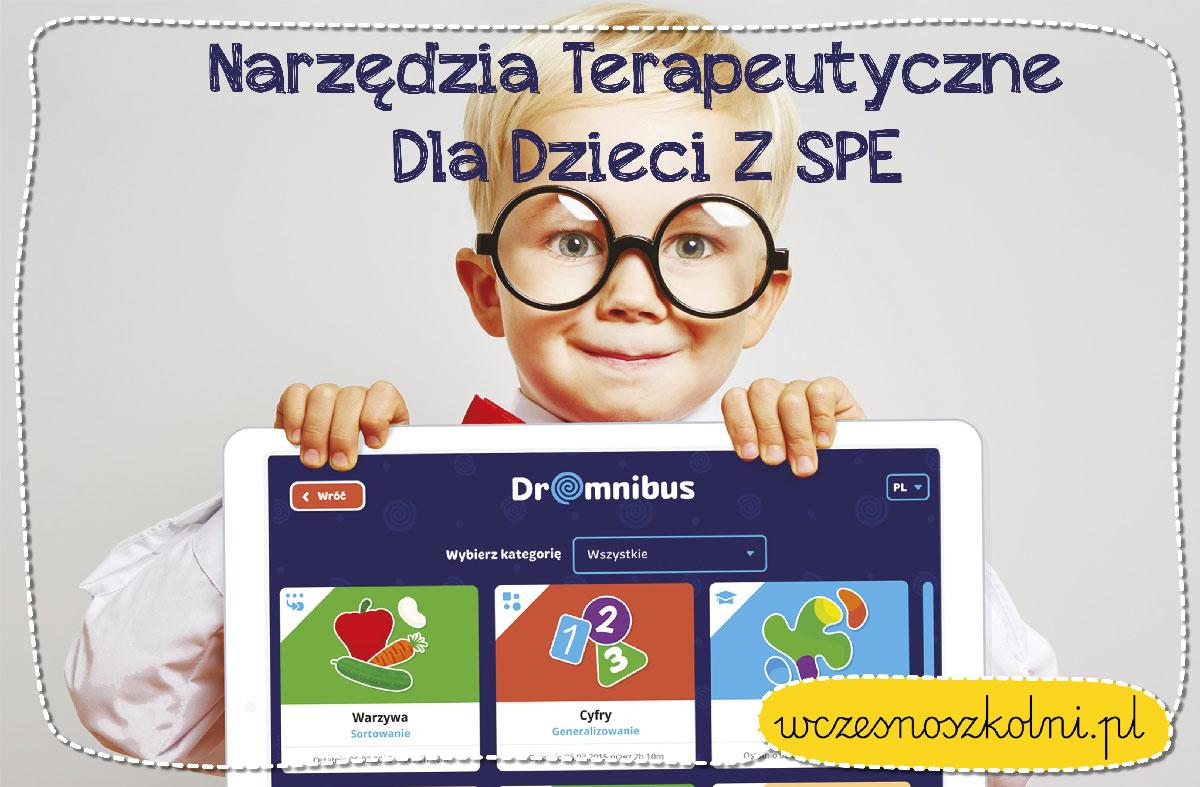 Narzędzia terapeutyczne dla dzieci z SPE