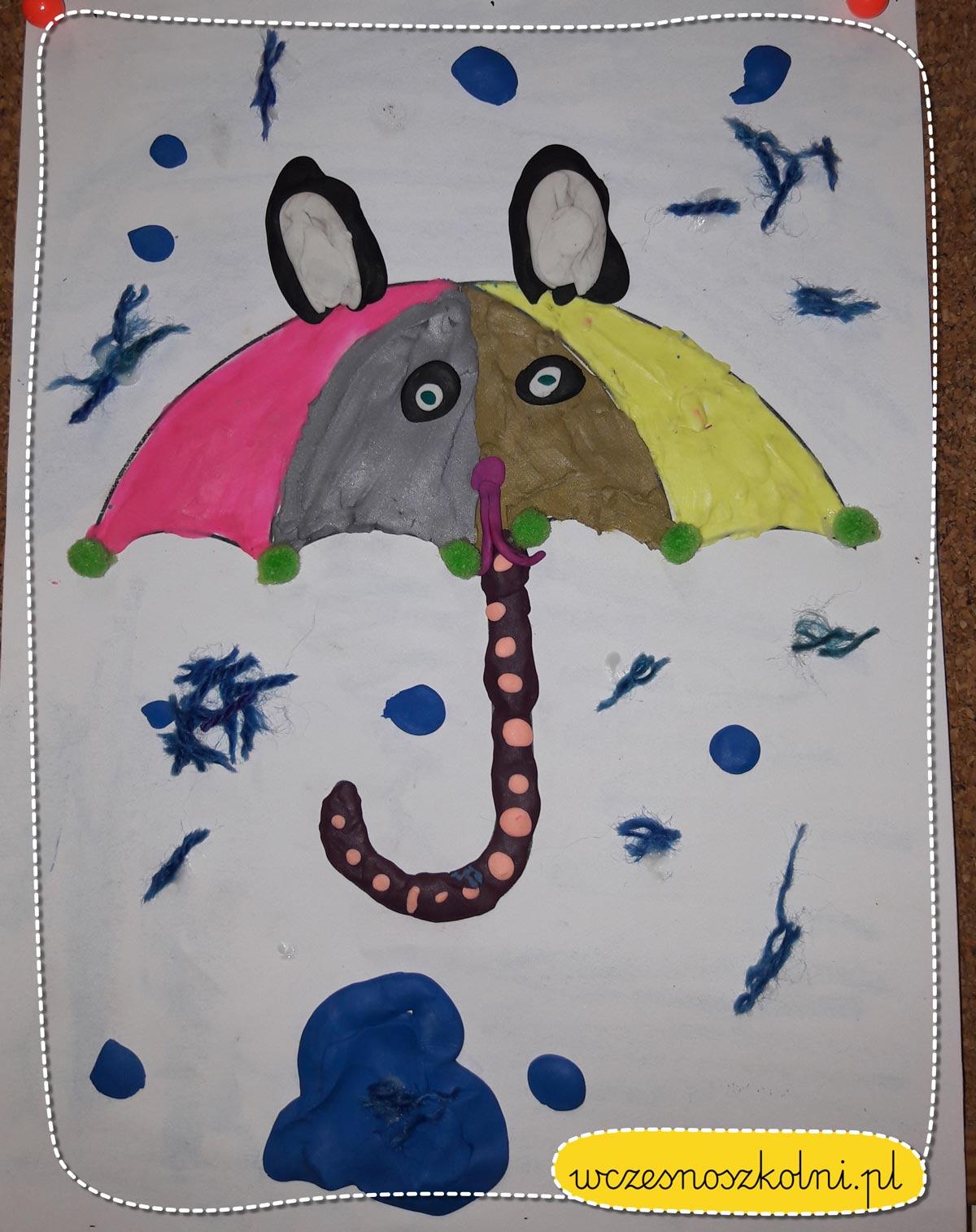 parasolki praca plastyczna