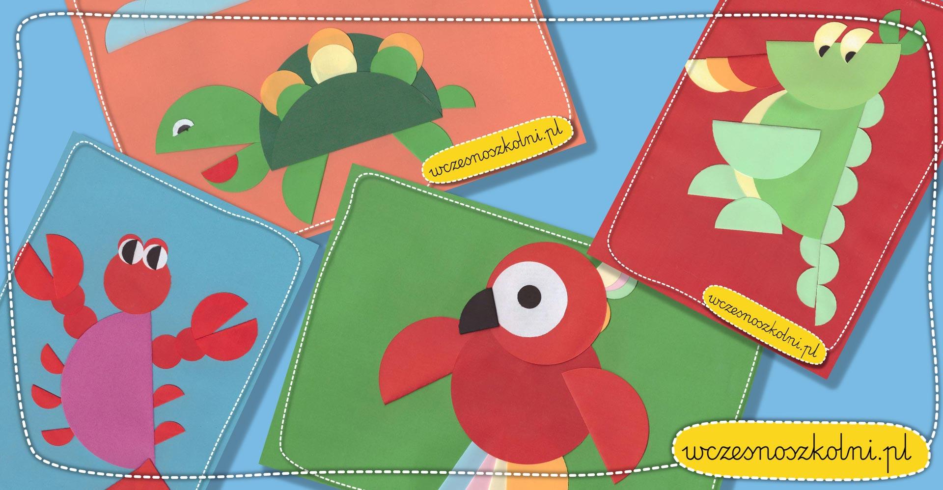 Kołka origami, pomysły na plastykę