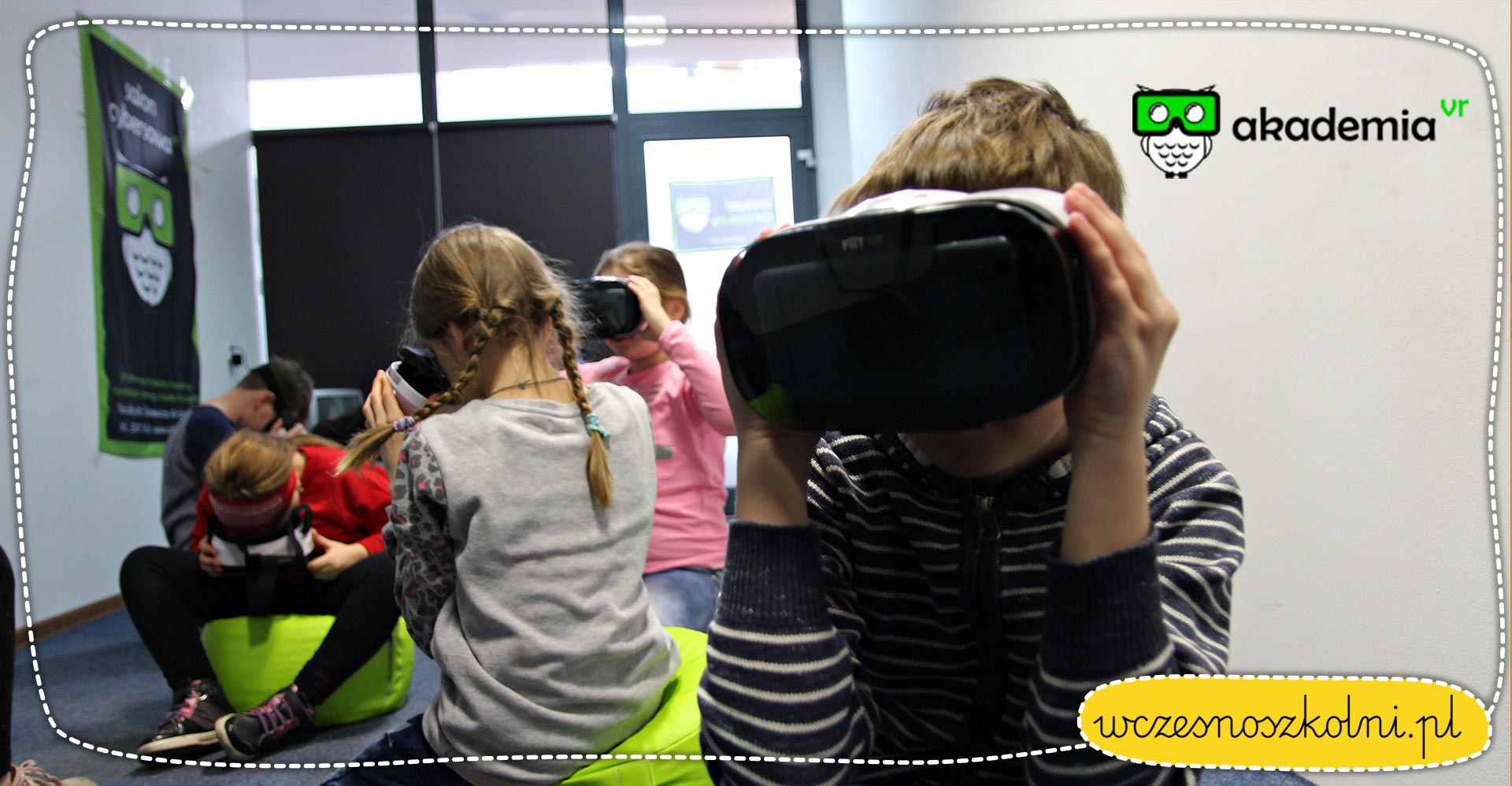 Akademia VR - wirtualna rzeczywistość w edukacji wczesnoszkolnej