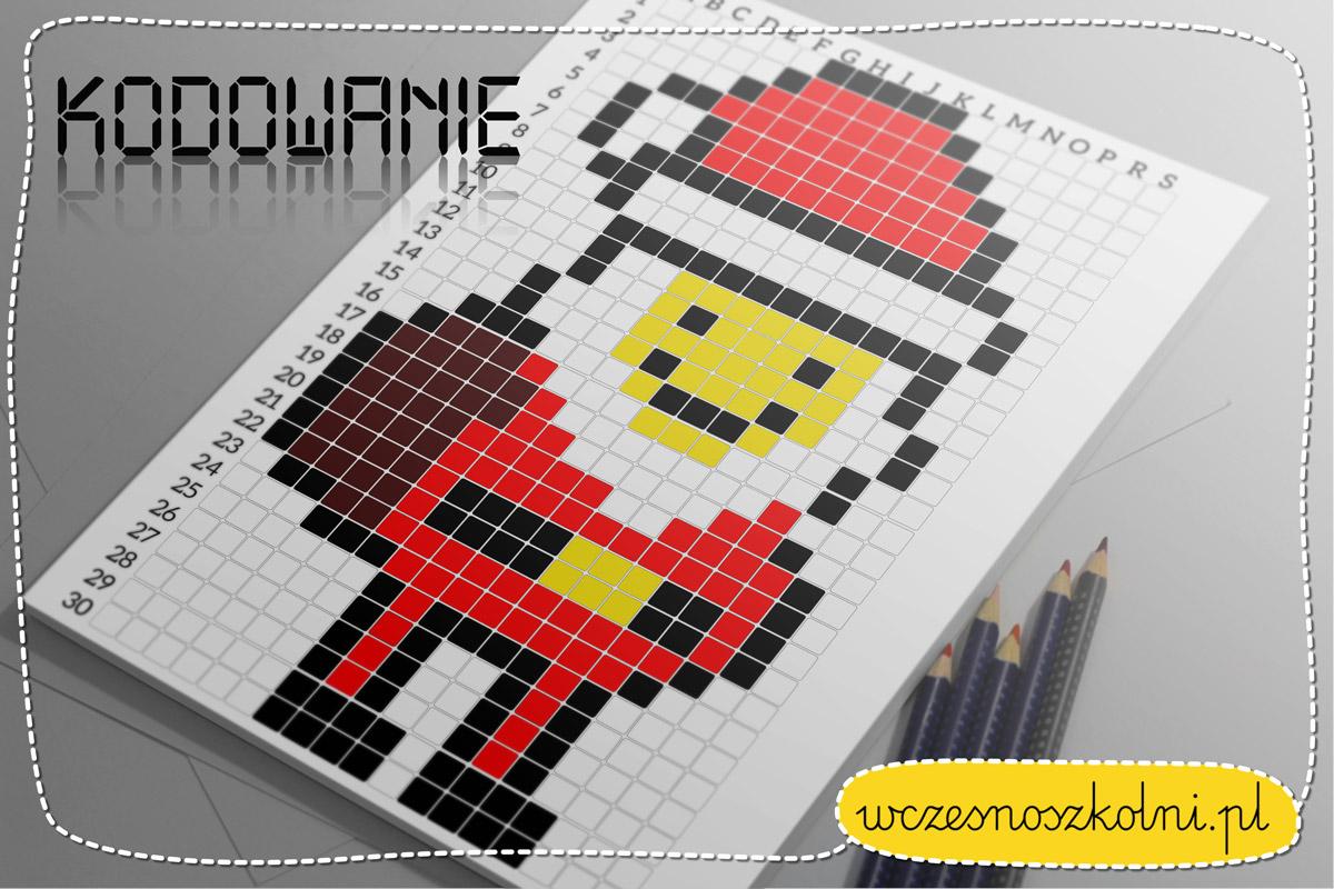 Mikołaj, kodowanie dla dzieci